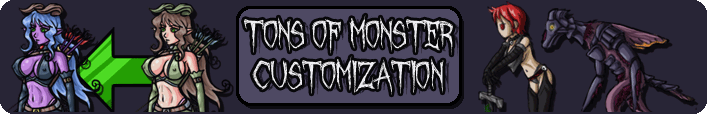 Tons of Monster Customization