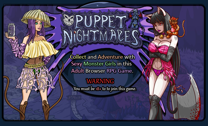 Collect and Adventure with Sexy Monster Girls and enjoy Adult Humor in this Old-School NSFW RPG.